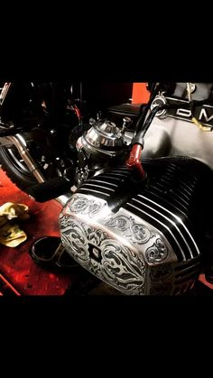 Cool Motorcycles, Triumph Motorcycles, Vintage Motorcycles, Bmw Scrambler, Scrambler Custom, Bmw Vintage, Vintage Bikes, Motorcycle Engine, Car Engine