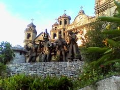 Cebu's Heritage Monument is a tourist attraction and destination that depicts the island's history Cebu City, Tourist Spots, Barcelona Cathedral, Philippines, Attraction, Island, History, Building, Travel
