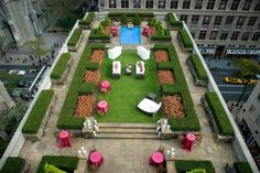 Rooftop Wedding Outdoor Venues Nyc Garden