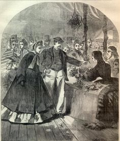 The Great New York Fair. Harper's Weekly, April 16, 1864. | In the Swan's Shadow