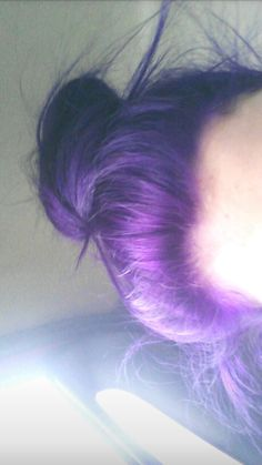 I dyed my hair a week ago😊