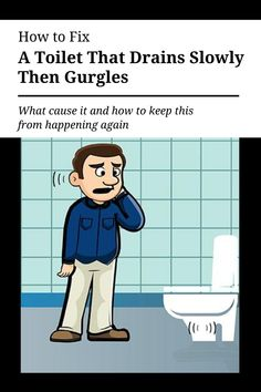 Your #toilet is #draining slowly, then gurgles. Yikes! Do not fear, we are here to help figure out a solution and preventative measures for the future. what could be causing your toilet to drain slowly then gurgle? Let's see if we can solve this.