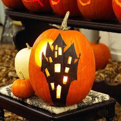 Inspiration for pumpkin carving..