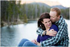 Plum Pretty Photography | Winter Park Engagement Photos | Monarch Lake Colorado | Colorado Engagement Photography