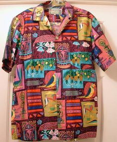 I have been thinking that on Fridays I would post Disneyland souvenir or other non photo items. And with Disney Shopping having put on sa. Formal Shirts, Casual Shirts, Camisa Vintage, 90s Shirts, Aloha Shirt, Linen Jackets, Look Cool, Shirt Sleeves, Regular Show