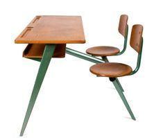 vieux mobilier scolaire