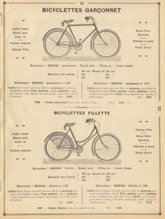 ~Bicyclettes Garconnet~ ad Picture by pilllpat (agence eureka) (patricia m) July 1 2012 Velo Vintage, Vintage Cycles, Vintage Bikes, Bicycle Shop, Bicycle Art, Bicycle Design, Cycling Art, Cycling Bikes, Bicicletas Raleigh
