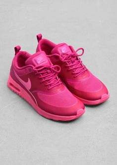 Nike - Air Max Thea in pink. These are incredibly cute and incredibly pink.