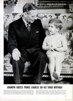 LIFE Magazine Picture of the Week - Prince Charles on his 3rd Birthday.