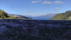 Lake Tarawera. New Zealand