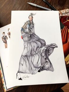 Let's take a look #sketch #sketching #draw #drawing #fashion #fw2017 #fashionsketch #fashiondrawing #fashionart #fashionillustration #fashionillustration #instaart #illustration #illustration #art #artwork