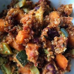 One pot quinoa and loaded veggie chilli. #cleaneating #bonappetit #foodie #vegetarian
