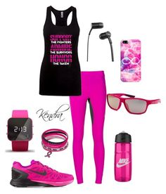 """""""Support Admire Honor"""" by k1974johnson1117 ❤ liked on Polyvore featuring Lucas Hugh, NIKE, Casetify, SOL Republic and 1:Face"""