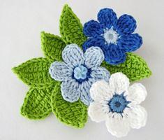 Crochet Bib, Baby Girl Crochet, Crochet Bunny, Crochet Chart, Crochet Motif, Crochet Stitches, Crochet Flower Tutorial, Crochet Flower Patterns, Crochet Designs