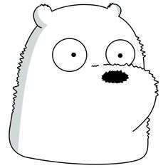 Ice Bear We Bare Bears, 3 Bears, Cute Bears, Bear Wallpaper, Galaxy Wallpaper, Pardo Panda Y Polar, Eid Crafts, We Bare Bears Wallpapers, Cute Animal Drawings Kawaii