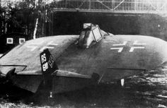 Sack AS 6 V1 - homebuilt disc-wing prototype. Built in 1944 at Brandis near Leipzig by Arthur Sack, it never managed to take off despite several attempts