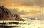 Seascape with Icebergs  by William Bradford