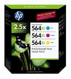 HP 564XL High Capacity XL Cartridges Combo Pack (1 Cyan, 1 Magenta, 1 Yellow) by HP. $64.25. Replacement cartridges for use with: HP Photosmart B8550, C6340, C6350, C6380, D5445 D5460, D7560, 5510, 5511, 5512, 5514, 5515, 6510, 6512, 6515, 7510, 7515 HP Photosmart Premium Hp Photsmart eStation