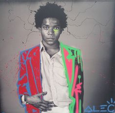 Jean Michel Basquiat by Alec Monopoly