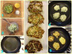 Zucchini & Farmers Cheese Fritters #HannahsGFA #glutenfree #fritters