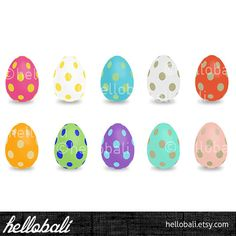 Easter Egg Spring Eggs Chicks Digital Scrapbook Image by HelloBali