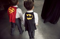 Long Island City Wedding at The Foundry from Isabelle Selby Photography - Batman Wedding - Ideas of Batman Wedding - Unexpected surprise for Ring Bearers Batman Wedding, Geek Wedding, Our Wedding, Dream Wedding, Wedding App, Wedding Unique, Wedding Rings, Destination Wedding, Superhero Rings