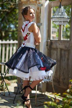 Mint a Mátka Kollekció 2017 - Bélavári Zita Couture Super Cute Dresses, Fabulous Dresses, Nice Dresses, Frilly Dresses, Flower Girl Dresses, Big Skirts, Dirndl Dress, Red Wedding Dresses, Maid Dress