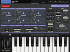 Casio CZ app for iPad. Phase Distortion Synthesis.
