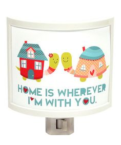 Look what I found on #zulily! 'Home' Night-Light by Common Rebels #zulilyfinds