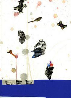 Gert + Uwe Tobias  Untitled, 2011  collage, mixed media on paper  30 x 22 cm