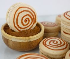 Cinnamon Roll Macarons Recipe & Video