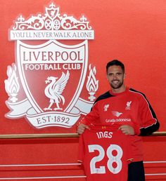 """""""It feels fantastic. As soon as I knew #LFC were interested, it was a no brainer,"""" says Danny Ings."""