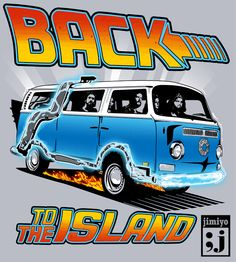 LOST- Back to the island mashup back to the future