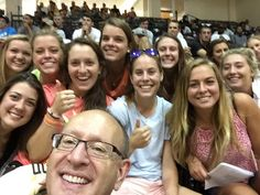 @LindenwoodU Hanging out with Student Athletes ... awesome! #LUforLife