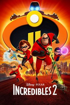 The Incredibles Repro Film Poster #2