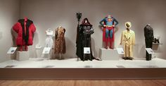 Animated and action costumes.