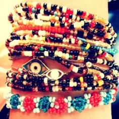 Pretty pretty bracelets