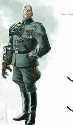 Von Strucker Dc Comics Art, Marvel Dc Comics, Comic Books Art, Comic Art, Book Art, Red Skull Marvel, Captain America Super Soldier, Baron Strucker, Hydra Marvel