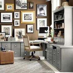 Original Home Office™ 3-Drawer File Cabinet Ballard Designs - modular cabinets/desk pieces