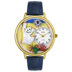 Bad Cat Watch in Gold (Large)