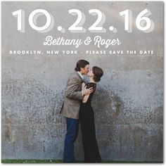 Dreamy Moment - Signature White Photo Save the Date Cards - Jenny Romanski - White : Front