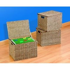 Amazon.com: Letter Size Hanging File Box Organizers With Lid SFB500: Office Products