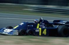 Patrick André Eugène Joseph Depailler (FRA) (Elf Team Tyrrell), Tyrrell P34 - Ford-Cosworth DFV 3.0 V8 (RET) 1976 Belgian Grand Prix, Circuit Zolder © Hoch Zwei