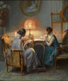 Delphin Enjolras (1857 – 1945) – Pintor Francês_34