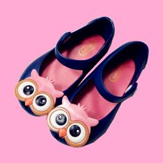 Mini Melissa jelly shoes with owls $5.87 from Aliexpress