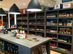 Beer Store, Liquor Store, Lucky Beer, Brew Shop, Buy Alcohol, Vegetable Shop, Supermarket Design, Bottle Shop, Bar Interior