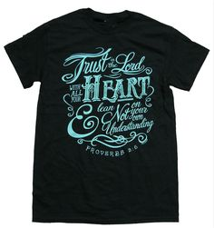 >> Click to Buy << GILDAN man t shirt Christian T-shirt Trust In The Lord Proverbs 3:5-black-small #Affiliate