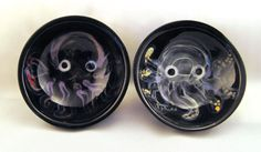 Little octopus dipping bowls, sushi, salt and pepper, mini, serving, pottery, ceramic, tentacle. $11.00, via Etsy.