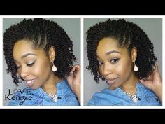 #87. Natural Hair | Twistout Hairstyle | feat. LoveKenzieB - YouTube