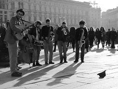 Jazz band playing Photo Lisa Mathiasen http://www.flickr.com/photos/lisamathiasen/